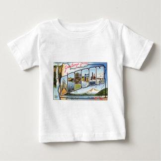 Camiseta Para Bebê Cumprimentos de Oregon
