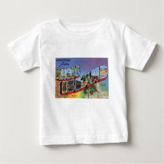 Camiseta Para Bebê Cumprimentos de Rhode - ilha