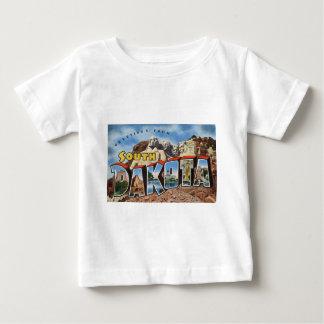 Camiseta Para Bebê Cumprimentos de South Dakota