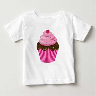 Camiseta Para Bebê Cupcake