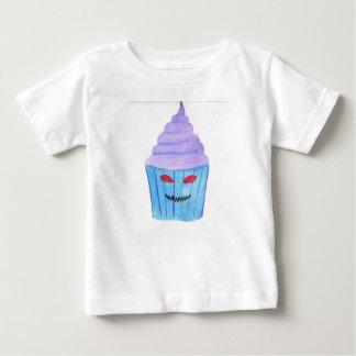 Camiseta Para Bebê Cupcake possuído