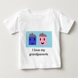 Camiseta Para Bebê Cupcakes da avó