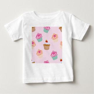 Camiseta Para Bebê Cupcakes e muffin