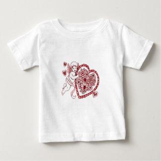 Camiseta Para Bebê Cupido
