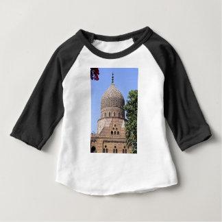 Camiseta Para Bebê Cúpula duma mesquita em Cairo