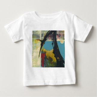Camiseta Para Bebê Curiosidade o dragão abstrato