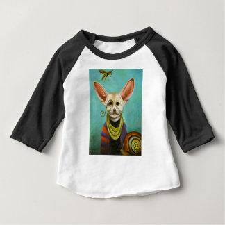 Camiseta Para Bebê Curioso como o Fox de A