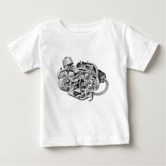 Camiseta Para Bebê Cutaway do Airhead