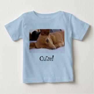 Camiseta Para Bebê Cutie!