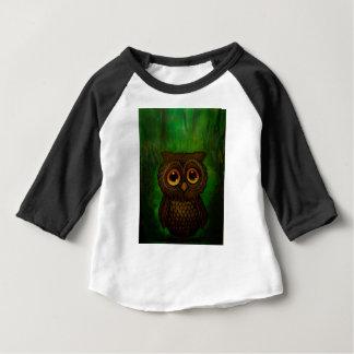 Camiseta Para Bebê Cutie da coruja
