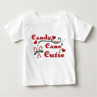Camiseta Para Bebê cutie do bastão de doces