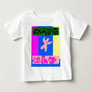 Camiseta Para Bebê ~ da arte moderna do ~ da alma
