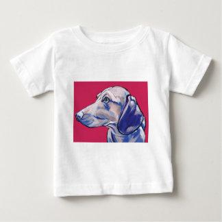 Camiseta Para Bebê dachshund