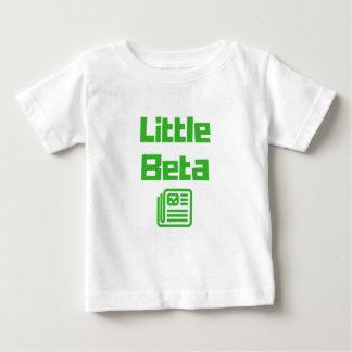 Camiseta Para Bebê Dados grandes/pouco beta - t-shirt para o pai e o