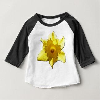 Camiseta Para Bebê Daffodil 1,0 da trombeta amarela