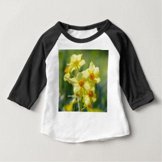Camiseta Para Bebê Daffodils bonito, narciso 03,1
