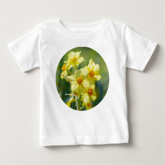 Camiseta Para Bebê Daffodils bonito, narciso 03.2_rd
