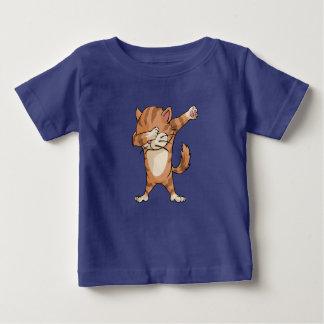 Camiseta Para Bebê Dança bonito de Dabber do gato da solha
