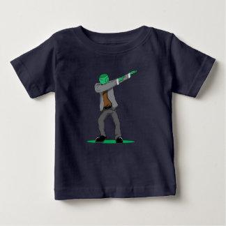 Camiseta Para Bebê dança de toque ligeiro sincera da solha do Dia das