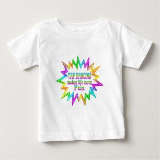 Camiseta Para Bebê Dança de torneira mais divertimento