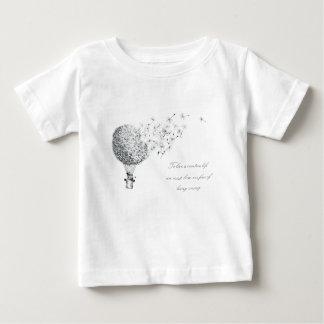 Camiseta Para Bebê dandylion hotair