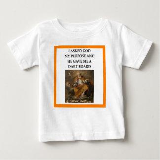 Camiseta Para Bebê dardos