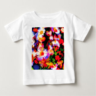 Camiseta Para Bebê Daze da margarida