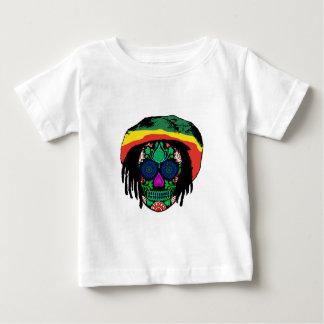 Camiseta Para Bebê Daze do crânio