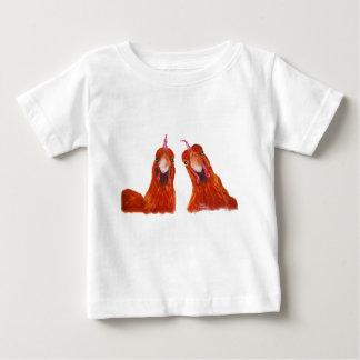 """Camiseta Para Bebê De FARSA da galinha das galinhas de """"bebê HARRIET"""