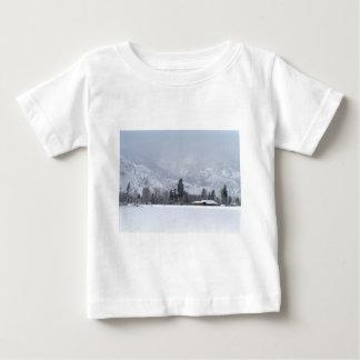 Camiseta Para Bebê De Keremeos rancho BC no inverno