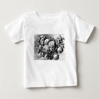 Camiseta Para Bebê De meu segredo Garden.tif