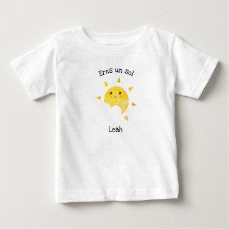 """Camiseta Para Bebê De """"t-shirt do bebê do solenóide do un Eres"""" da"""