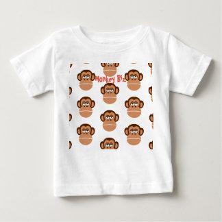 """Camiseta Para Bebê De """"t-shirt do divertimento dos negócios macaco"""""""