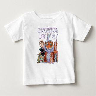 Camiseta Para Bebê De todo o excelente das criaturas e pequeno