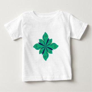 Camiseta Para Bebê Deco verde de Ethno da mandala