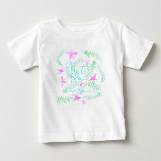 Camiseta Para Bebê Deixa a mosca ausente