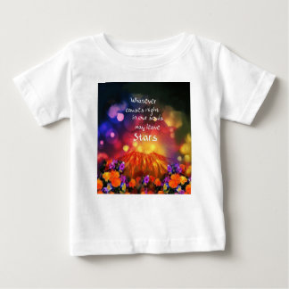 Camiseta Para Bebê Deixa para fora o melhor em você