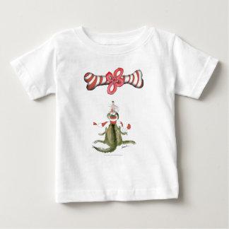 Camiseta Para Bebê deleite da surpresa do cão do futebol do futebol