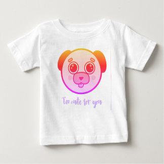 Camiseta Para Bebê Demasiado bonito para você
