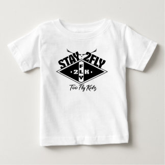 Camiseta Para Bebê Demasiado mosca Kidz