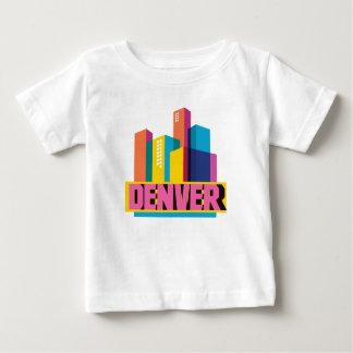 Camiseta Para Bebê Denver no design