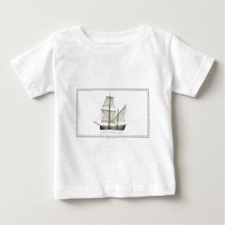 Camiseta Para Bebê descoberta 1607