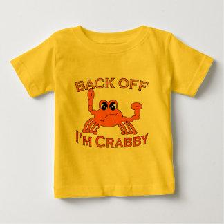 Camiseta Para Bebê Desembarace-se, mim são Crabby