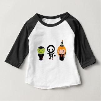 Camiseta Para Bebê Desenhistas poucas criaturas bonitos do Dia das