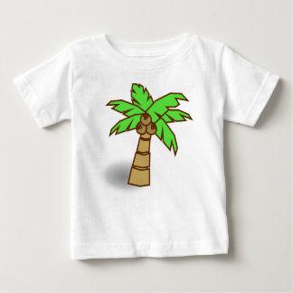 Camiseta Para Bebê Desenho da palmeira