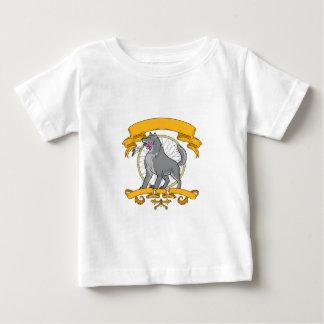 Camiseta Para Bebê Desenho de Dreamcatcher da flor do Plumeria do