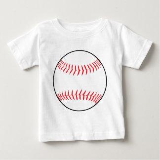 Camiseta Para Bebê Desenho do basebol