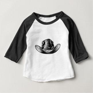 Camiseta Para Bebê Desenho do chapéu de vaqueiro
