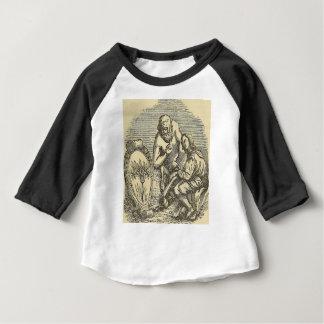 Camiseta Para Bebê Desenho do Hypnotism com espelho