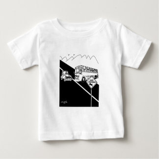 Camiseta Para Bebê Desenhos animados 3251 do ônibus